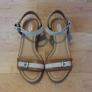 New Dr Scholls wedge sandals